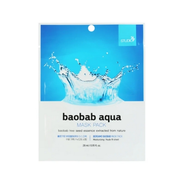 Bergamo Baobab Aqua Face Mask Pack - 28ml