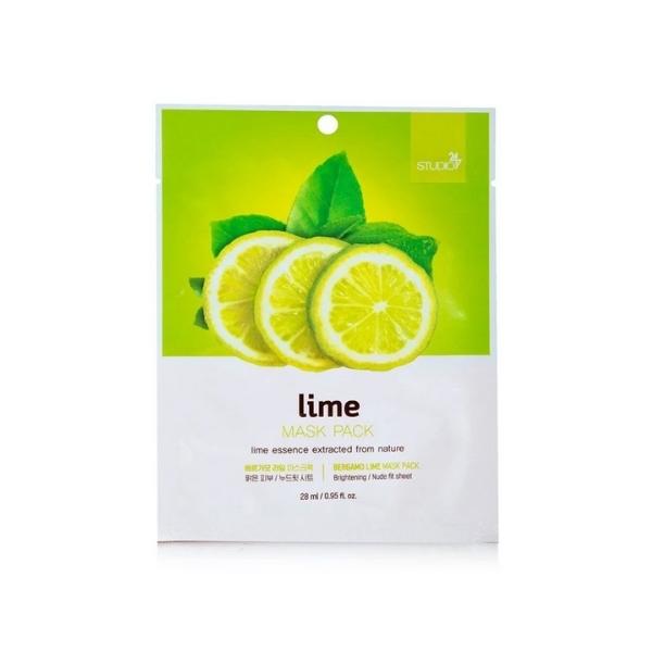 Bergamo Lime Face Mask Pack - 28ml