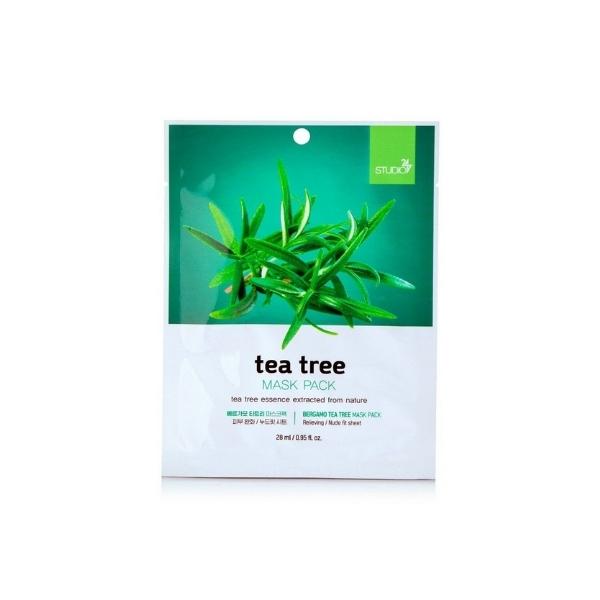 Bergamo Tea Tree Face Mask Pack - 28ml