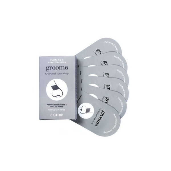 Groome Charcoal Purifying & Deep Cleansing Nose Strip