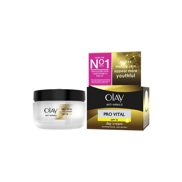 Olay Anti-Wrinkle Pro Vital Day Cream SPF 15 - 50ml